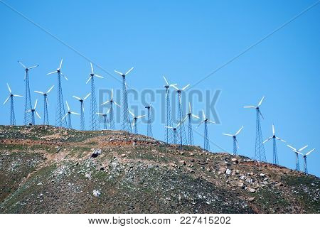 Wind-farm; An Alternate Source Of Clean Energy.