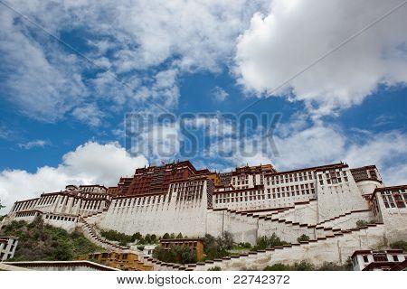 Potala Palace And Cloudscape