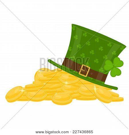 St Patrick's Hat On Gold Pile