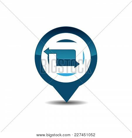 D Letter Gps Logo. Gps Vector. Gps Icon. Navigation Vector Logo. Navigation Vector Icon. Travel Logo