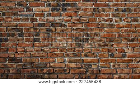 Grunge brick wall. Grunge brick background. Old brick wall. Brickwork. Brown brick background. Brick style. Grunge brick. Grunge brickwork.