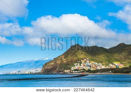 Beautiful View On San Andres Near Santa Cruz De Tenerife In The North Of Tenerife, Canary Islands, S