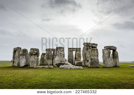Stonehenge, Prehistoric Monument In Wiltshire, United Kingdom