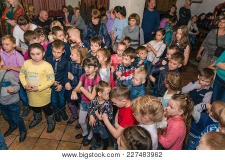 02.02.2018 Zatei 10 Years Entertainment Program For Children. Russia Altai Region City Zarinsk. Many