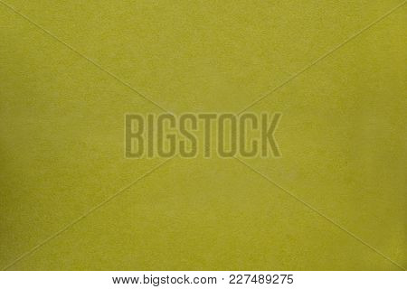 Yellow Rough  Worn Pimpled Background With Place For Inscription