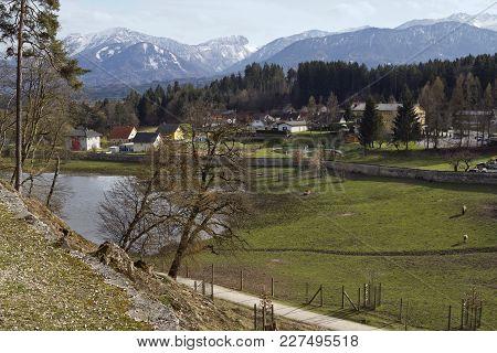The Gailtal Alps And Tierpark Rosegg, Carinthia