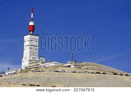 Antenna Radio And Reception Facilities And Weather Station Of Mount Ventoux
