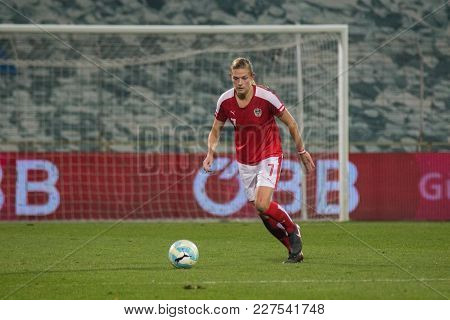 Moedling, Austria, 23th November 2017: Carina Wenninger At Fifa Wm Qualification Ladies Austria Vs I