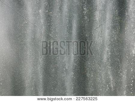 Fountain Splashes. Splashing Fountain Like Monochrome Texture.