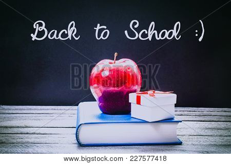 Back To School And Education Concept With Copy Space