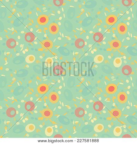 Wonderful Fruits Seamless Pattern. Autentic Design For Textile, Print Or Digital.