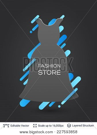 Stylish Label Design Easy To Edit. Vector Illustration.