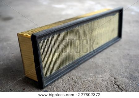 Used Air Filter For Car, Auto Spare Part, For A Car Engine