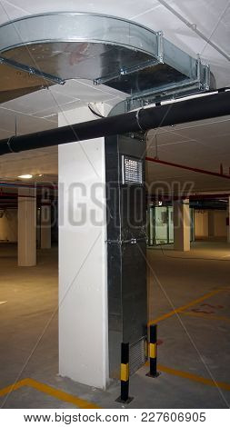 Ventilation System For Garage, Ventilation Of Exhaust Gases