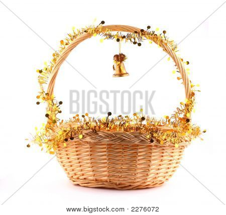 Golden Bell And Basket