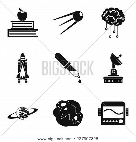 Cognitive Icons Set. Simple Set Of 9 Cognitive Vector Icons For Web Isolated On White Background