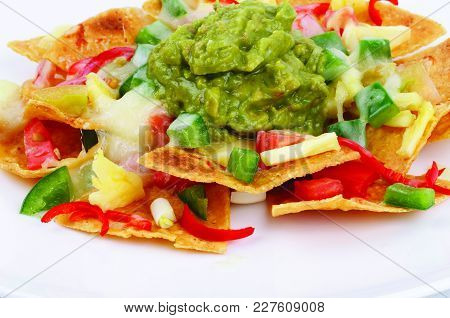 Nachos Food, Nachos Traditional Food Menu, Spicy Nachos Menu