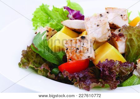 Salad, Chicken Salad, Salad Menu, Healthy Salad Menu