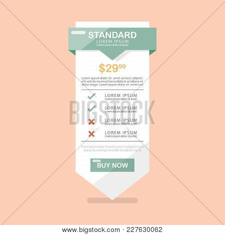 Commercial Banner Interface. Vector Illustration Graphic Design