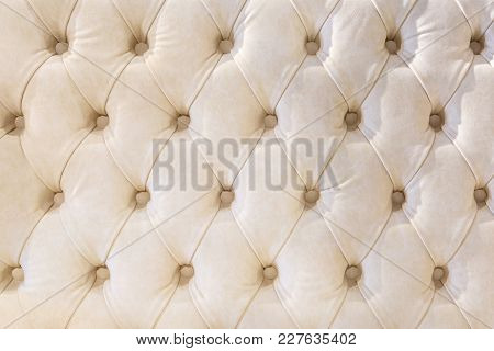 Chester Style Leather Background For Furniture Sofa Different Colors With Precious Jewelry Stones. E