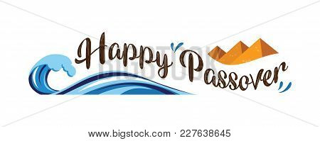 Happy Passover, Jewish Holiday. Abstract Banner. Abstract Vector Illustration