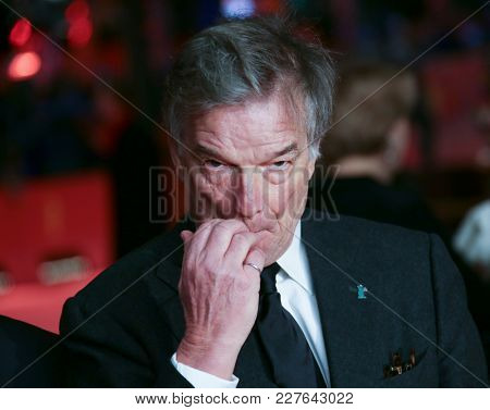 Benoit Jacquot attends the 'Eva' premiere during the 68th l Film Festival Berlin at Berlinale Palast on February 17, 2018 in Berlin, Germany.