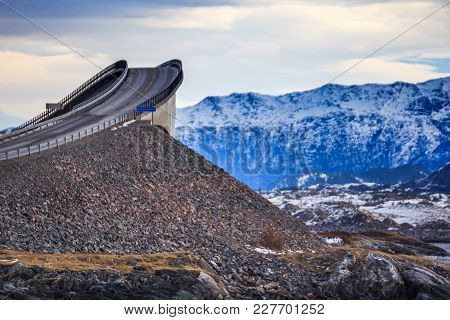 Storseisundet Bridge The Main Attraction Of The Atlantic Road Norway