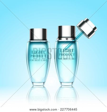 Set Cosmetic Bottles For Your Creative Projects