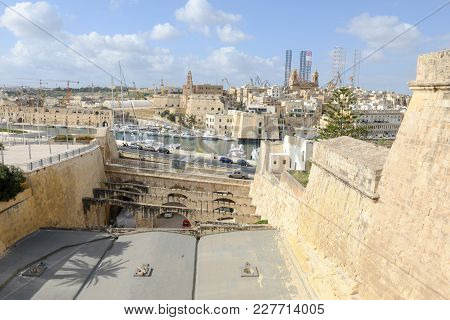 The Historic Town Of Birgu (vittoriosa), Malta