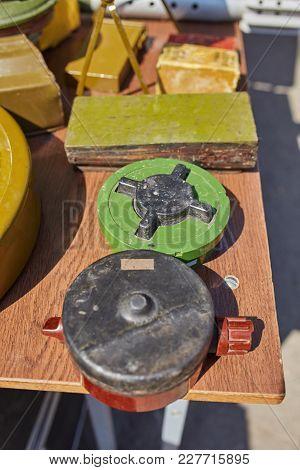 Anti Personnel Mine. Weapons Of War In Ukraine
