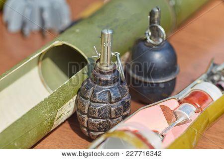 Rgd - 5, Hand Grenade. Weapons Of War In Ukraine
