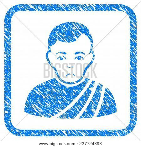 Patrician Citizen Rubber Seal Stamp Imitation. Icon Vector Symbol With Grunge Design And Unclean Tex