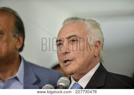 The President Of Brazil Michel Temer