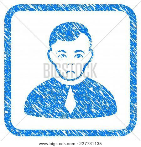 Lawyer Rubber Seal Stamp Imitation. Icon Vector Symbol With Grunge Design And Unclean Texture In Rou