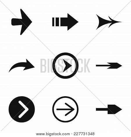 Link Icons Set. Simple Set Of 9 Link Vector Icons For Web Isolated On White Background