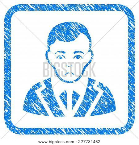 Noble Gentleman Rubber Seal Stamp Imitation. Icon Vector Symbol With Grunge Design And Corrosion Tex