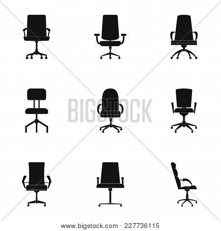 Seat Icons Set. Simple Set Of 9 Seat Vector Icons For Web Isolated On White Background