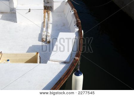 White Rowboat