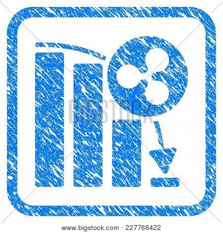 Ripple Epic Fail Graph Rubber Seal Stamp Watermark. Icon Vector Symbol With Grunge Design And Dust T