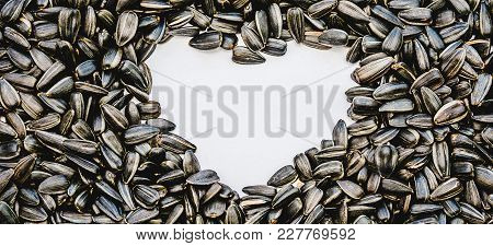 Sunflower Seeds The Heart In The Center, The Concept Of Sunflower Oil, Halva Traditional