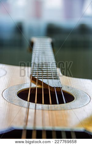 Guitar Neck With Strings, Musical Instrument, Music Repair