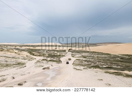 Driving Thru The Dunes, Jericoacora, Ceará, Brazil