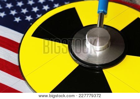 Stethoscope For Doctor And The Danger Of Radiation