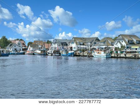 Village Of Vitte On Hiddensee At Baltic Sea,mecklenburg Western Pomerania,germany