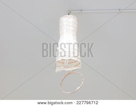 Broken Lamp In A Dutch House