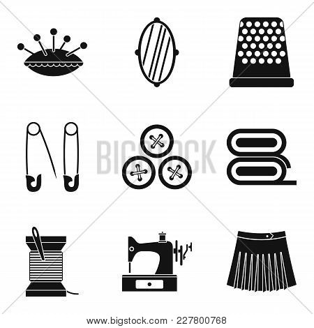Piercing Icons Set. Simple Set Of 9 Piercing Vector Icons For Web Isolated On White Background