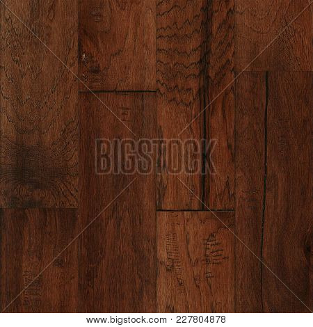 Mohawk Hickory Chestnut Wood Flooring Background Texture