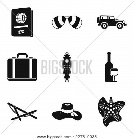 Newlywed Icons Set. Simple Set Of 9 Newlywed Vector Icons For Web Isolated On White Background