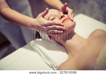 Rejuvenating Relaxing Massage By Masseur At Massage Saloon