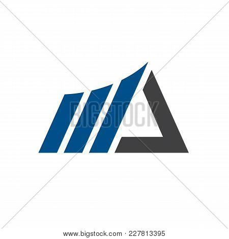 Nice And Clean Marketing Logo Template. Available In Resizable Eps Vector.